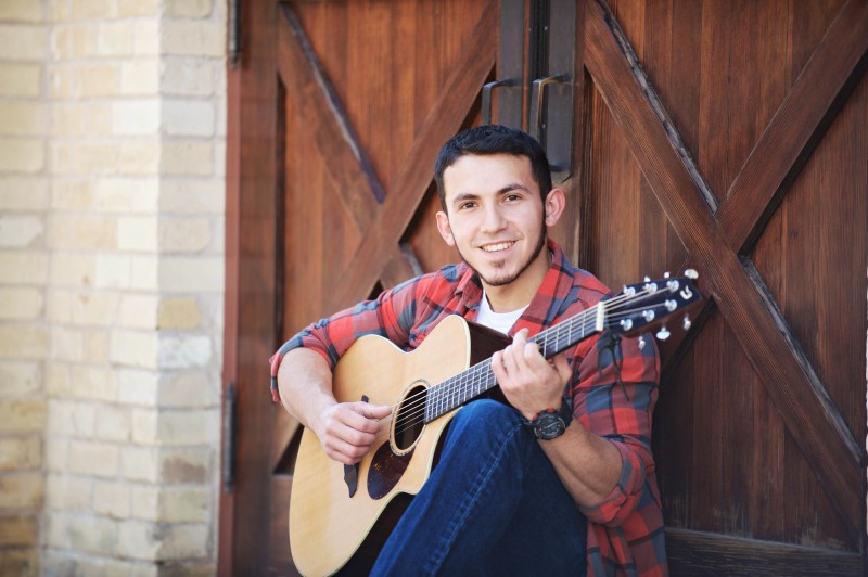 San Antonio Senior Portraits Photographer - Jonathan