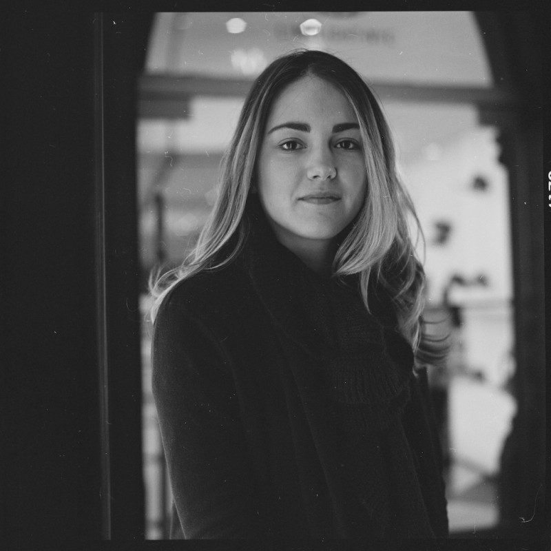 San Antonio Film Portrait Photographer - Fernanda (NYC)