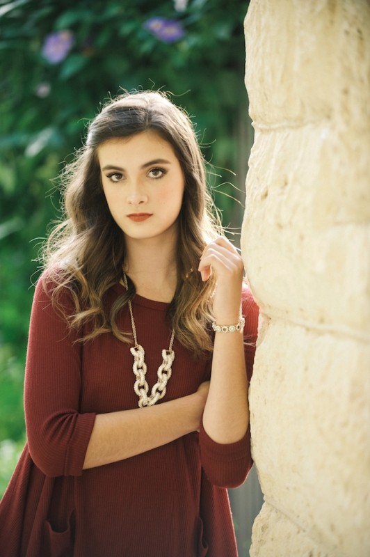 San Antonio Senior Portraits Photographer - Sophie